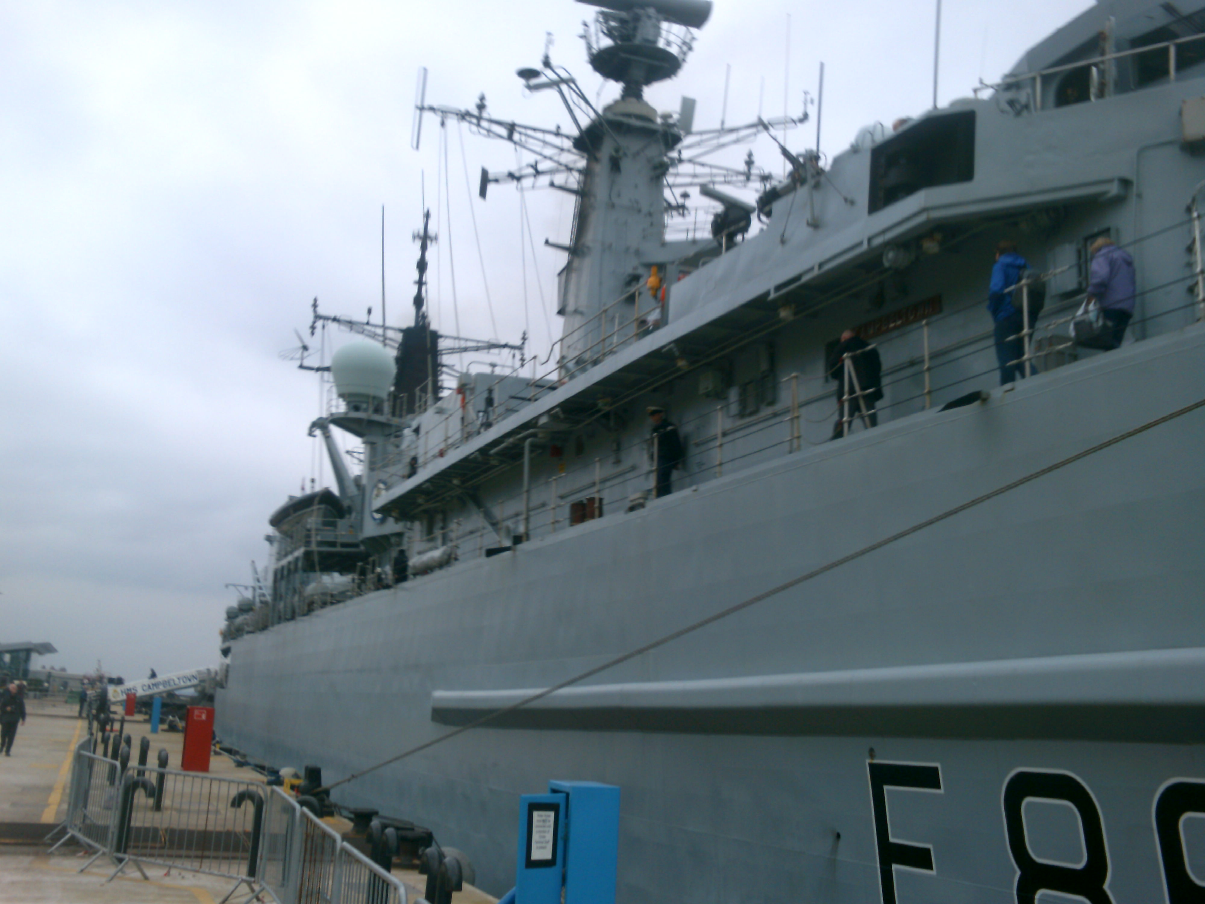 HMS Campbeltown, Liverpool Pier Head
