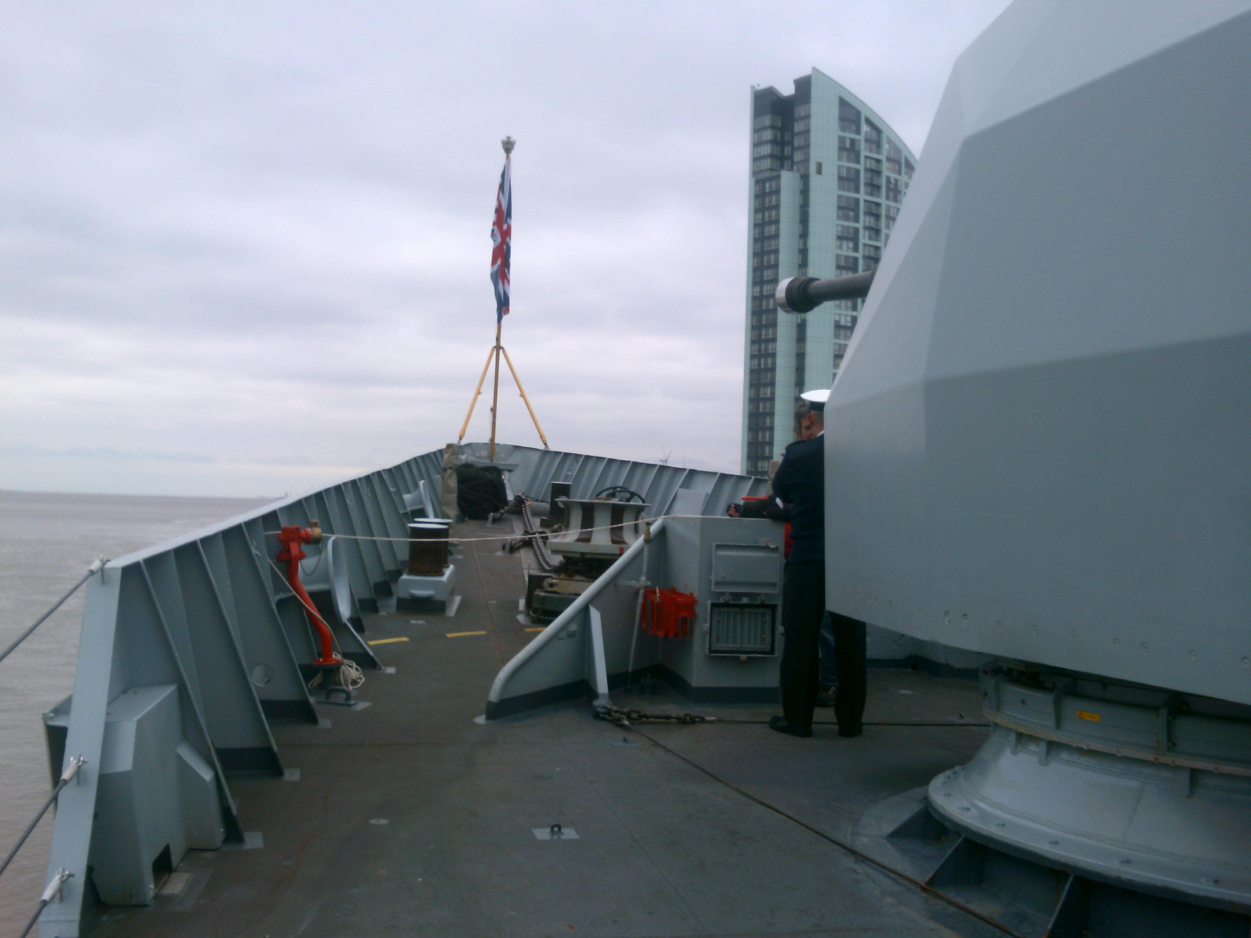 HMS Campbeltown, Liverpool Pier Head