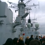 HMS Campbeltown, Pier Head Liverpool 5/3/2011