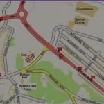 Bus Stop locations Hoylake Road, Bidston
