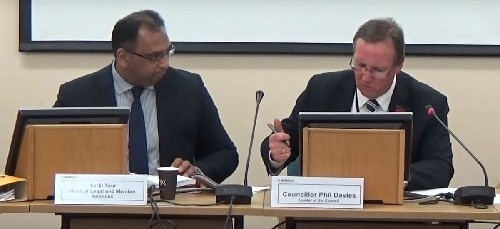 Cabinet (Wirral Council) 5th November 2015 Councillor Phil Davies asks Surjit Tour to introduce the report on Cabinet portfolios and Pledge Champions