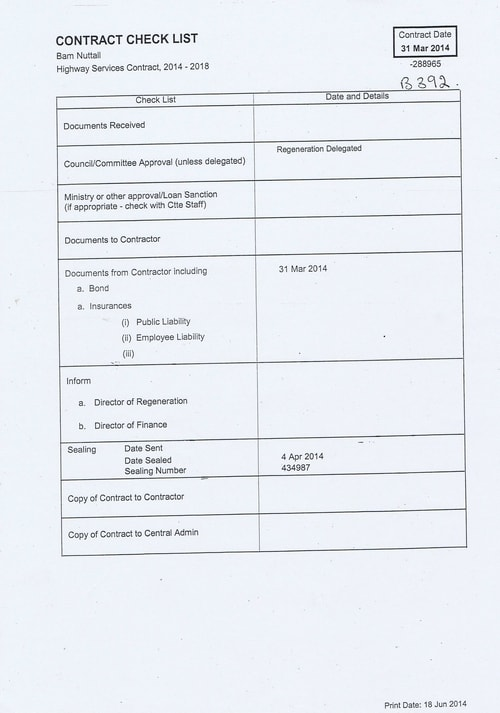 Bam Nuttall contract Wirral Council page 1