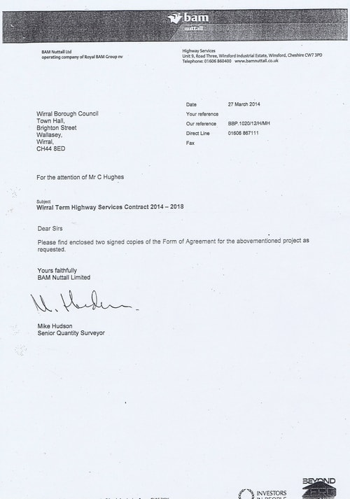 Bam Nuttall contract Wirral Council page 2