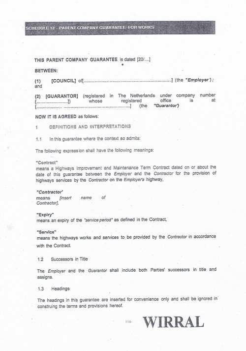 Bam Nuttall contract Wirral Council page 31