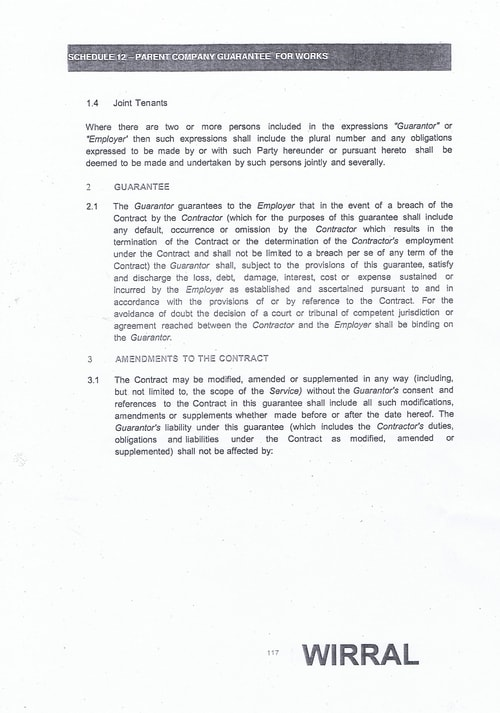 Bam Nuttall contract Wirral Council page 32