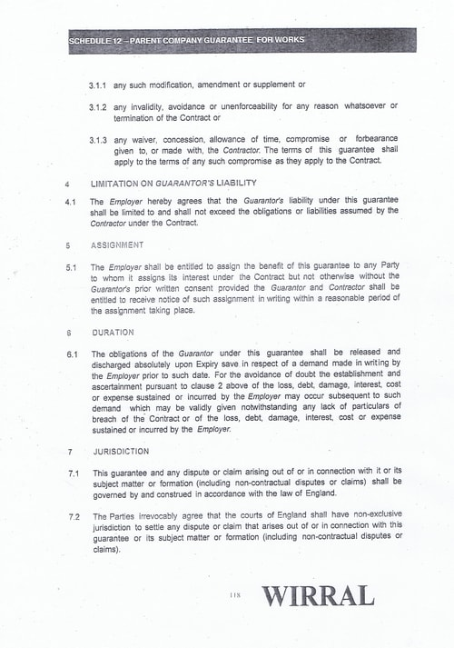 Bam Nuttall contract Wirral Council page 33