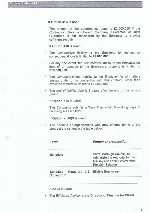 Bam Nuttall contract Wirral Council page 46
