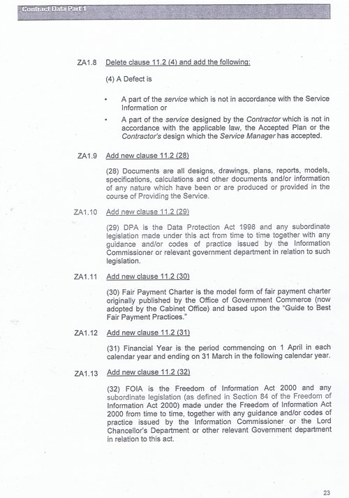 Bam Nuttall contract Wirral Council page 50