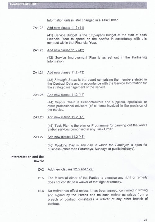 Bam Nuttall contract Wirral Council page 52