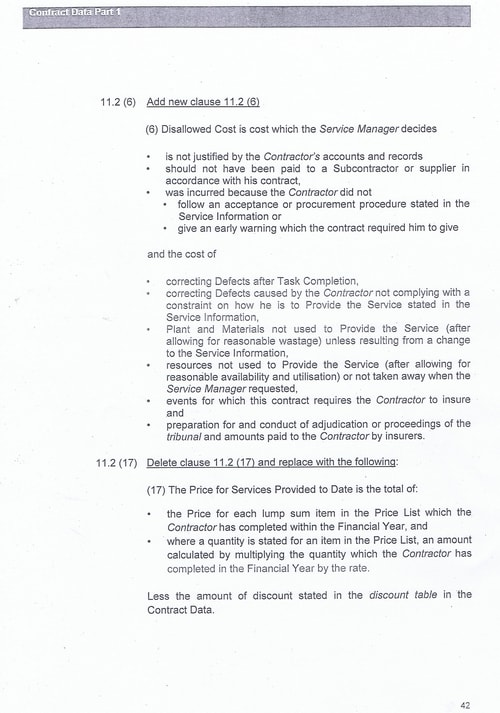 Bam Nuttall contract Wirral Council page 69