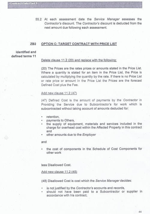 Bam Nuttall contract Wirral Council page 71