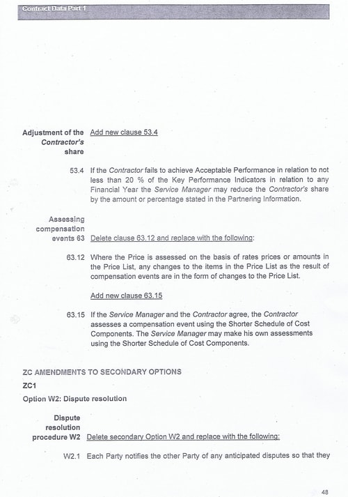 Bam Nuttall contract Wirral Council page 75
