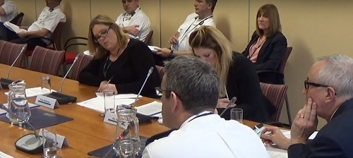Phil Garrigan (Deputy Chief Fire Officer) speaks about freedom of information requests to a meeting of Merseyside Fire and Rescue Authority's Performance and Scrutiny Committee (12th January 2015)