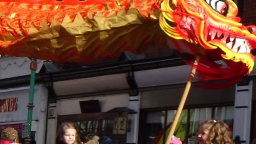 Chinese New Year Liverpool 2016 Chinese dragon  7th February 2016 photo 11