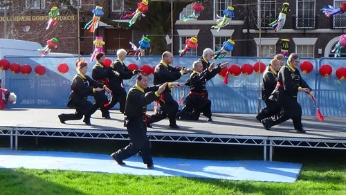 Chinese New Year Liverpool 2016 Tai Chi demonstration Great George Square 7th February 2016 photo 15