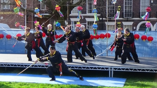 Chinese New Year Liverpool 2016 Tai Chi demonstration Great George Square 7th February 2016 photo 20