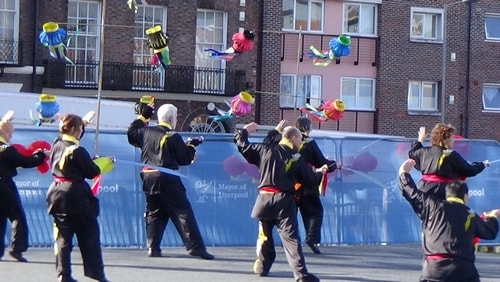 Chinese New Year Liverpool 2016 Tai Chi demonstration Great George Square 7th February 2016 photo 28