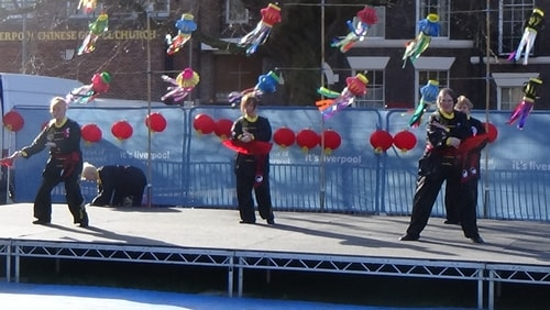Chinese New Year Liverpool 2016 Tai Chi demonstration Great George Square 7th February 2016 photo 38