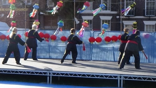 Chinese New Year Liverpool 2016 Tai Chi demonstration Great George Square 7th February 2016 photo 45