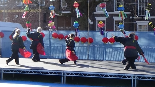 Chinese New Year Liverpool 2016 Tai Chi demonstration Great George Square 7th February 2016 photo 46