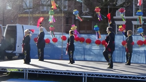 Chinese New Year Liverpool 2016 Tai Chi demonstration Great George Square 7th February 2016 photo 49