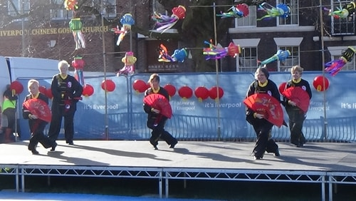 Chinese New Year Liverpool 2016 Tai Chi demonstration Great George Square 7th February 2016 photo 59