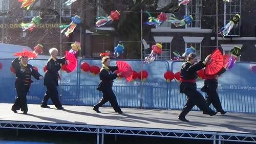 Chinese New Year Liverpool 2016 Tai Chi demonstration Great George Square 7th February 2016 photo 64
