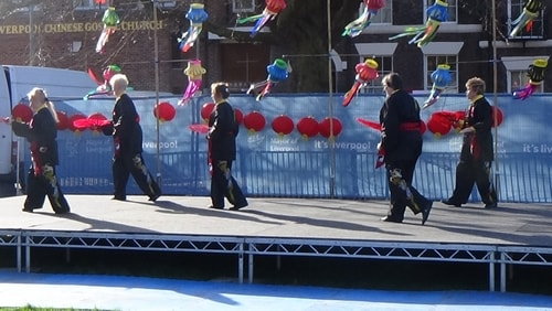 Chinese New Year Liverpool 2016 Tai Chi demonstration Great George Square 7th February 2016 photo 67