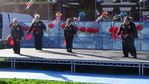 Chinese New Year Liverpool 2016 Tai Chi demonstration Great George Square 7th February 2016 photo 71