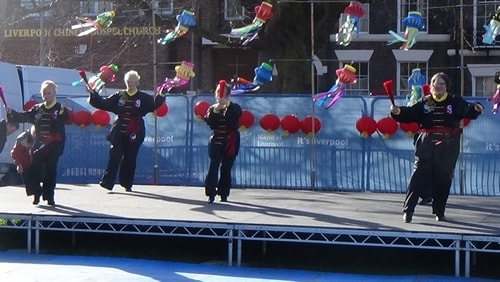 Chinese New Year Liverpool 2016 Tai Chi demonstration Great George Square 7th February 2016 photo 72