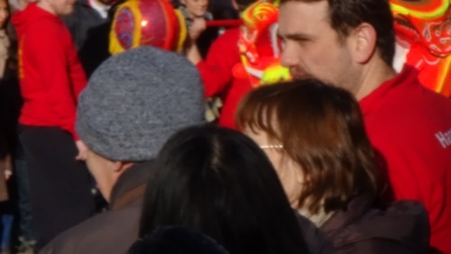 Chinese New Year Liverpool 2016 crowd shot 7th February 2016