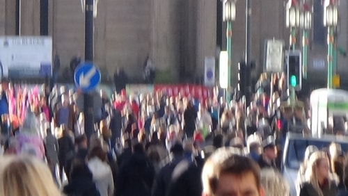 Chinese New Year Liverpool 2016 crowds 7th February 2016