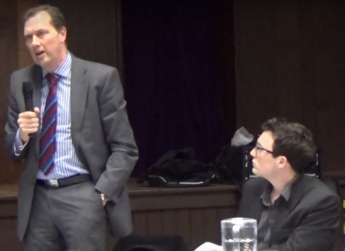 Cllr Matthew Patrick (right) Cabinet Member for Localism and Engagement (11th February 2016)