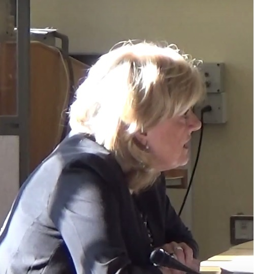 Cllr Ann McLachlan Cabinet Member for Transformation and Improvement at a Cabinet meeting on the 7th March 2016
