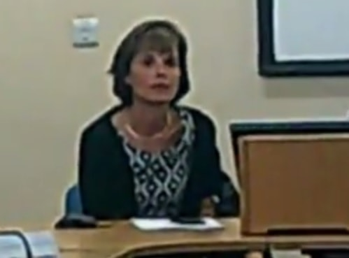 Emma Degg at the Wallasey Constituency Committee Working Group 1st October 2014