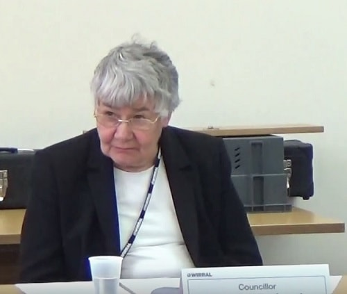 Councillor Denise Roberts (Chair, Standards and Constitutional Oversight Committee at Wirral Council) 6th July 2016
