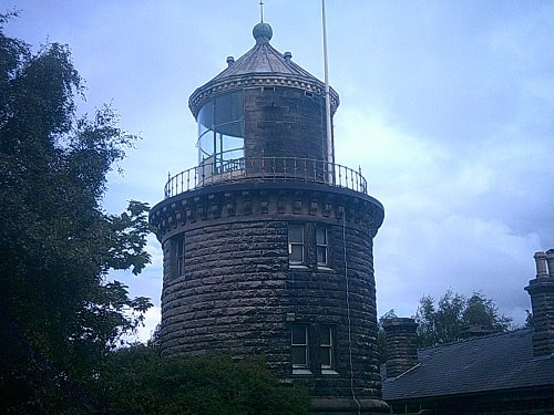 Bidston Lighthouse (Wilding Way), Bidston Hill 14th August 2014 taken by John Brace