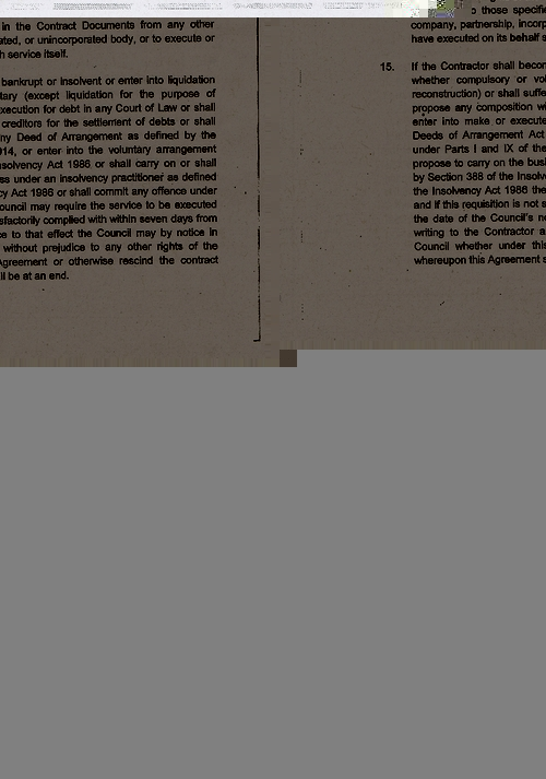 Wirral Council litter enforcement contract Kingdom Security Ltd contract terms and conditions page 4 of 13
