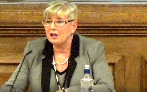 Councillor Anita Leech (Chair, Wirral Council's Planning Committee) 15th December 2016 planning application APP/16/00985