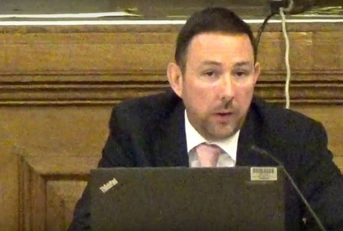 Matthew Parry-Davies (Wirral Council) Planning Committee 15th December 2016 planning application APP/16/00985