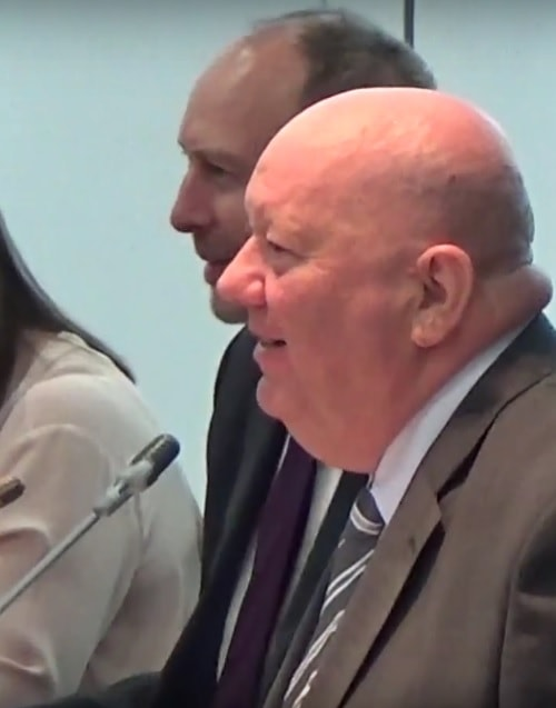 Mayor Joe Anderson Chair at a meeting of the Liverpool City Region Combined Authority 21st April 2017