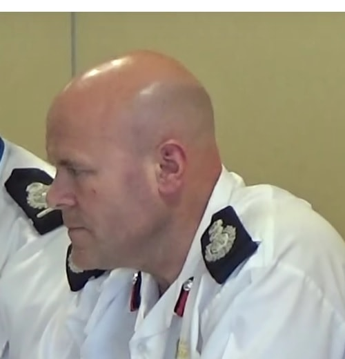 Dan Stephens (Chief Fire Officer), Merseyside Fire and Rescue Service 25th May 2017