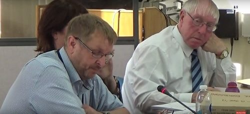 Cabinet (Wirral Council) 19th June 2017 Cllr Stuart Whittingham (left) Cabinet Member for Highways and Transport