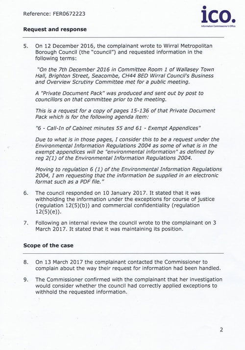 FER0672223 Hoylake Golf Resort (Wirral Council) Page 2 of 14