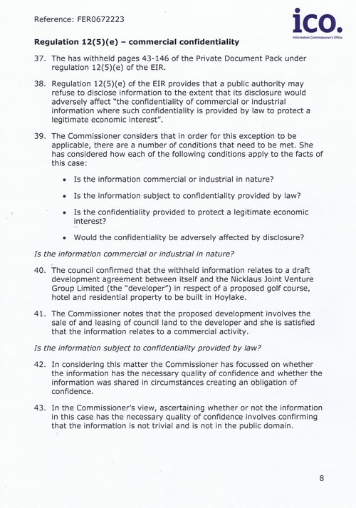 FER0672223 Hoylake Golf Resort (Wirral Council) Page 8 of 14