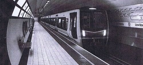 One of the new driver only operated trains ordered by Merseytravel that has led to the strikes
