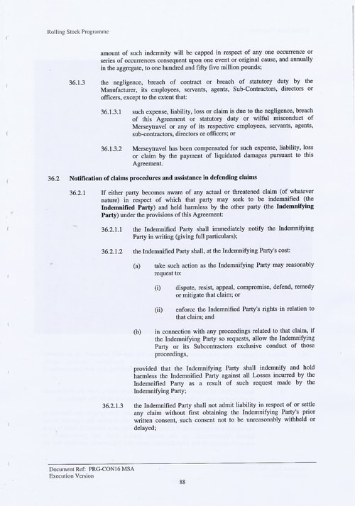 101 Contract PRG CON16 MSA Page 88