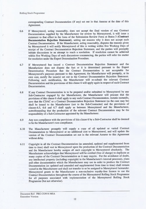 25 Contract PRG CON16 MSA Page 12
