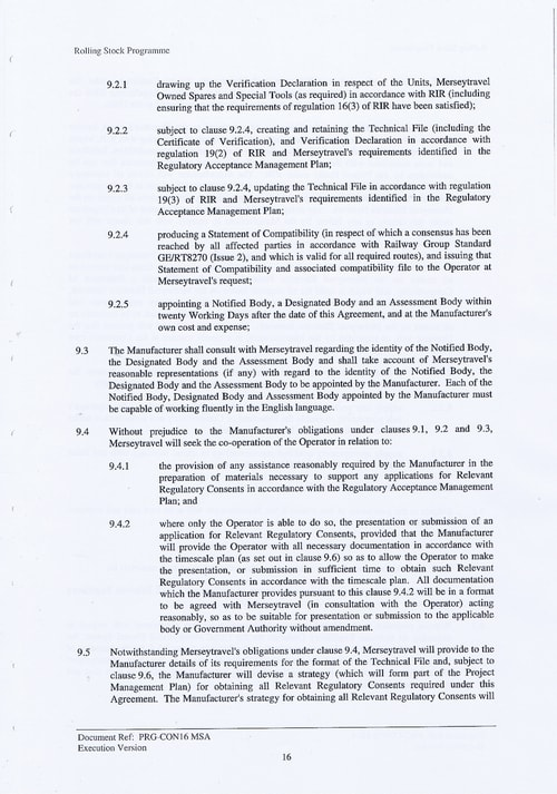29 Contract PRG CON16 MSA Page 16