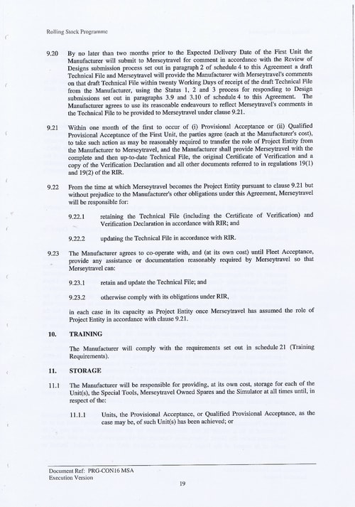 32 Contract PRG CON16 MSA Page 19